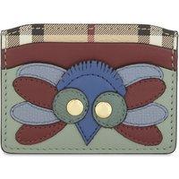 Izzy Owl leather card holder