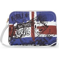 Doodle Print coated canvas pouch