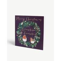 Merry Christmas Grandma & Grandad Christmas card