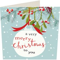 A very merry Christmas to you Christmas cards pack of five