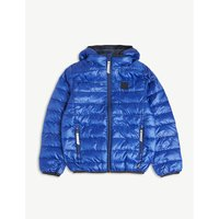 Embossed applique padded jacket 4-14 years