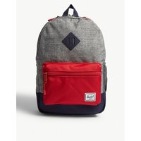 Heritage colour-block backpack
