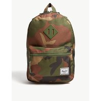 Heritage camouflage print backpack