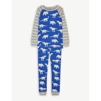 恐龙 打印 有机 棉 睡衣 4-12 岁月
