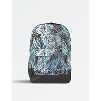 Jungle print shell backpack