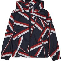 Geometric raincoat 6-16 years