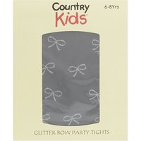 COUNTRY KIDS | Country Kids Lurex bow tights 1-11 years | Goxip