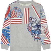 Animal print cotton sweatshirt 4-16 years