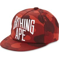 Branded camouflage cotton snapback cap