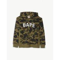Camouflage logo cotton hoody