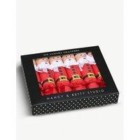 Father Christmas luxury crackers set of six