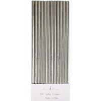 Party metallic foiled straws