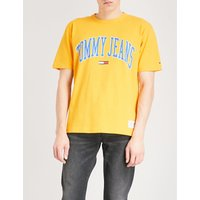 Collegiate cotton-jersey T-shirt