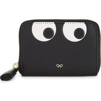 Eyes small leather purse