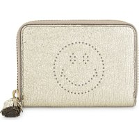 Smiley small leather purse