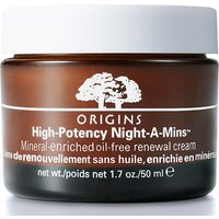 Origins High Potency Night–A–Mins™ mineral–enriched oil–free renewal cream