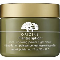 "Origins Plantscriptionâ""¢ youth-renewing night cream 50ml"