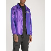 Iridescent shell jacket