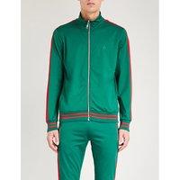 Carnaby sports-jersey track jacket