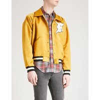 Fifth Collection Manuel satin bomber jacket