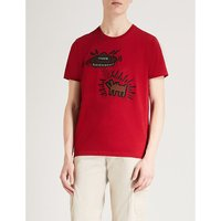 Coach X Keith Haring UFO Dog cotton T-shirt