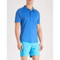 Sebastian tailored-fit piqué polo shirt