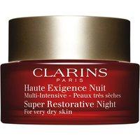 Clarins Super Restorative Night Cream - For Very Dry Skin 50ml