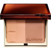 Clarins Bronzing Duo Mineral Powder Compact, Women's, 01 light