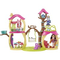 Playhouse Panda doll playset