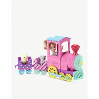 Chelsea doll and Choo-Choo 36-pieceTrain set