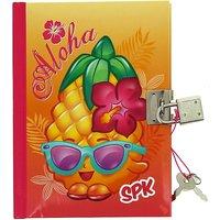 Shopkins Aloha lockable diary