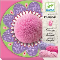 Djeco Pom Pom craft set