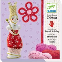 Djeco French knitting Elodie doll