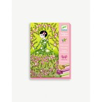 Djeco Dresses glitter boards craft kit
