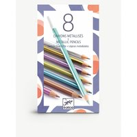 Djeco Metallic colouring pencils set of 8