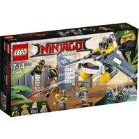 The Lego Ninjago Movie Manta Ray Bomber