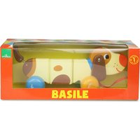 Vilac Basile the dog wooden pull along toy