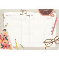 Rifle Paper Desktop weekly planner desk pad deskpad