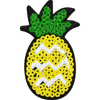 Sequin pineapple sticker