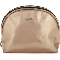 Sweet And Sour Round copper make-up bag, Women's