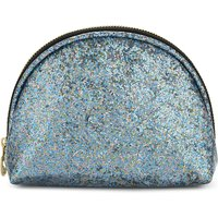 Sweet And Sour Semi-circle glitter make-up bag, Women's
