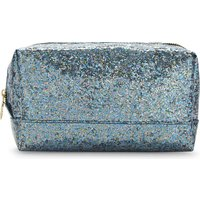 Sweet And Sour Rectangle glitter make-up bag, Women's