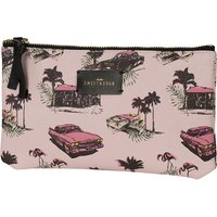 Sweet And Sour Cadillac flat make-up pouch