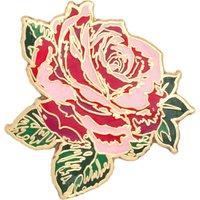 Bando 'Will you accept this rose?' enamel pin