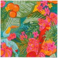 Tropical Fiesta paper napkins