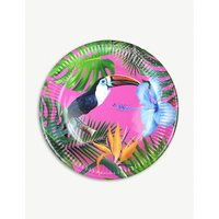 Tropical Fiesta paper plates pack of 12