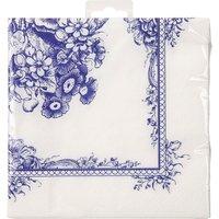 Party Porcelain pack of 20 paper napkins