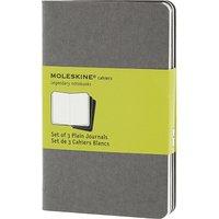 Moleskine Set of three plain pocket Cahier journals