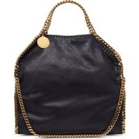 Stella Mccartney Falabella faux-suede tote, Women's, Size: One Size, Navy