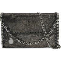 Stella Mccartney Falabella drop chain cross-body bag, Women's, Ruthenium